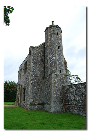 Baconsthorpe Castle, Norfolk England