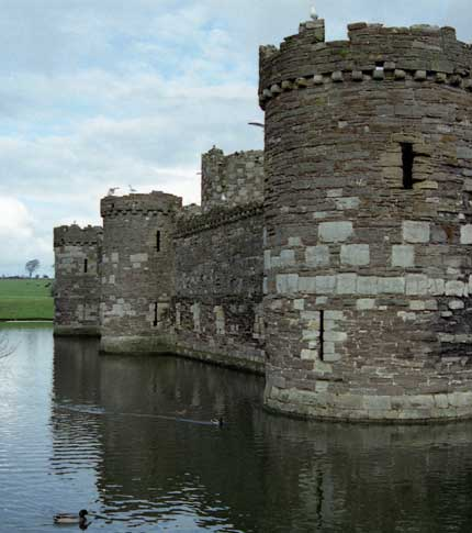 Beaumaris Castle - Anglesey, Wales