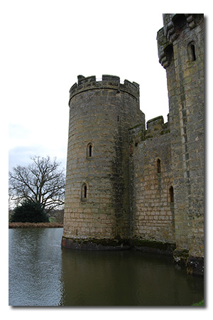 Bodiam Castle, East Sussex England