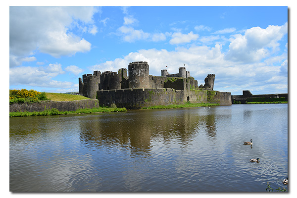 Caerphilly Castle, Caerphilly Wales