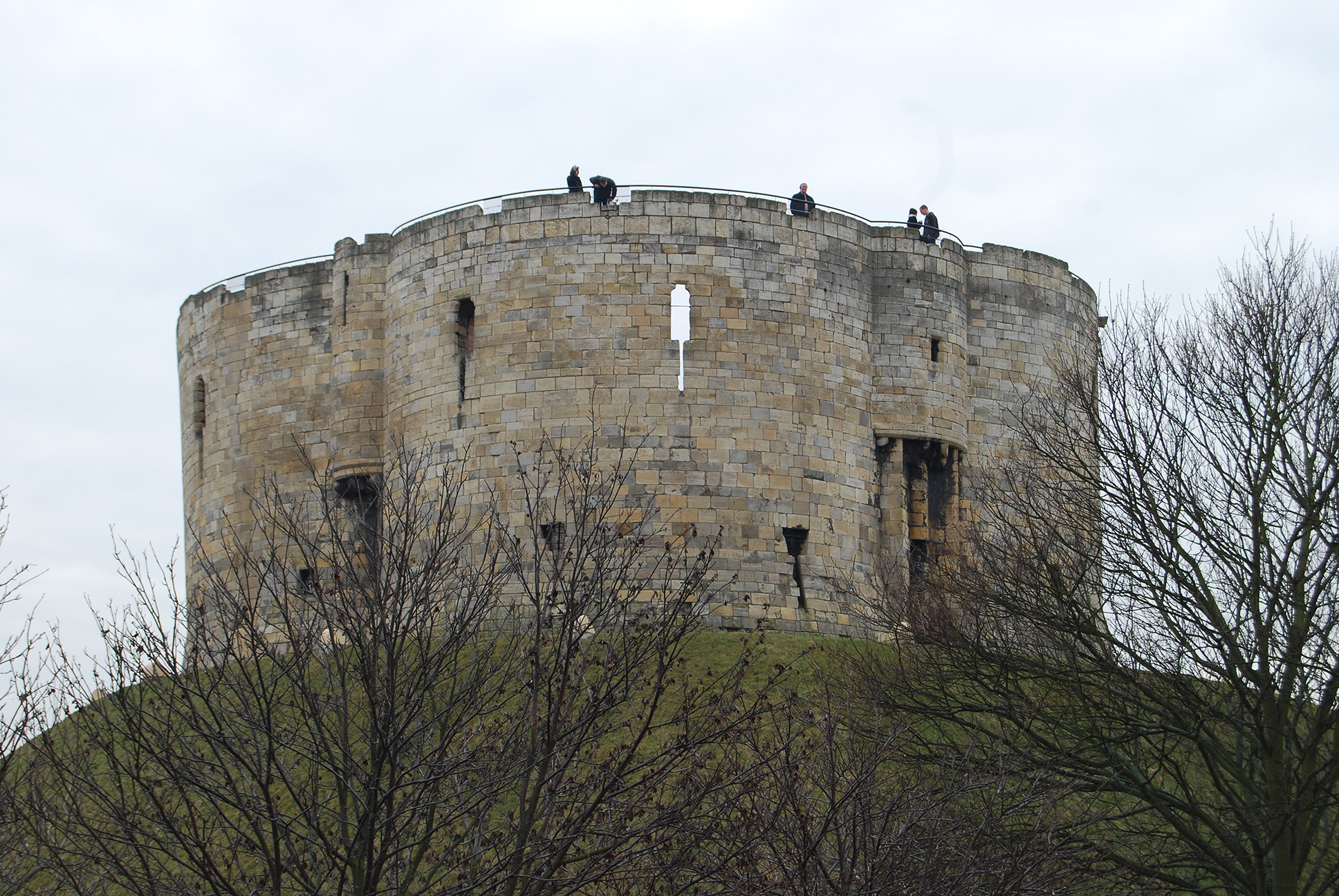 Clifford's Tower of York Castle