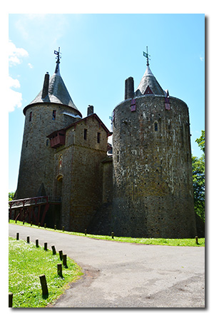 Castle Coch, Cardiff Wales