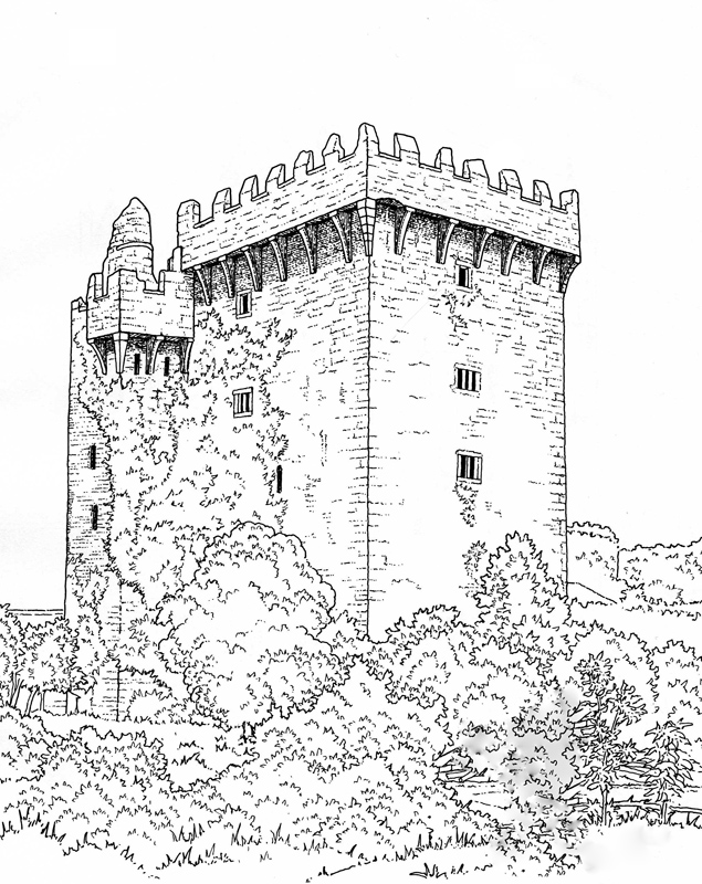 - Great Castles - Coloring Book