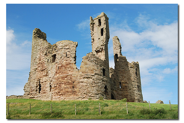 Dunstanburgh Castle, Northumberland England