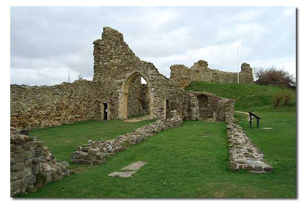 Hastings Castle, East Sussex