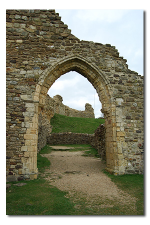 Hastings Castle, East Sussex England