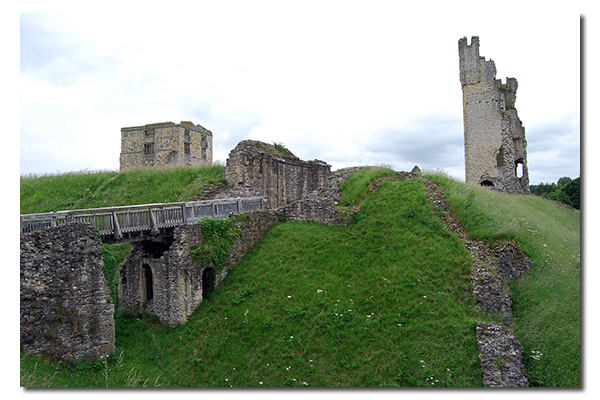 Helmsley Castle, North Yorkshire England