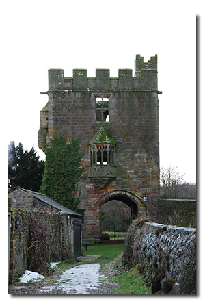 Marmion Tower, North Yorkshire England