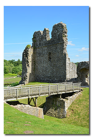 Ogmore Castle, Glamorgan Wales