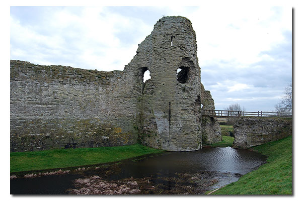 Pevensey Castle, East Sussex