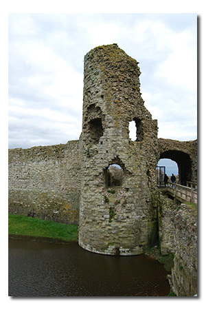 Pevensey Castle, East Sussex England