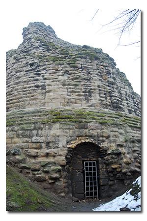 Pontefract Castle, West Yorkshire England