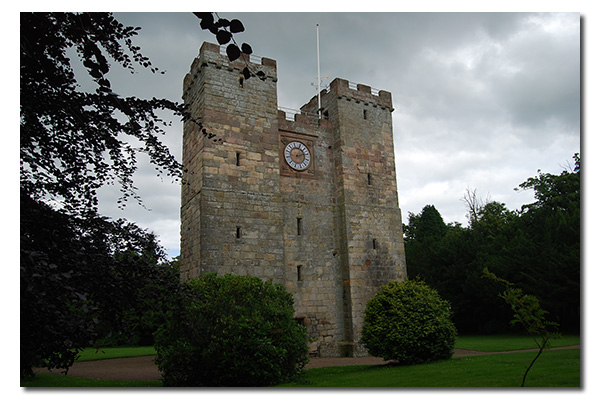 Preston Tower, Northumberland England