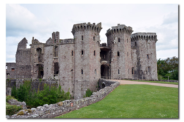 Raglan Castle, Monmouthshire Wales