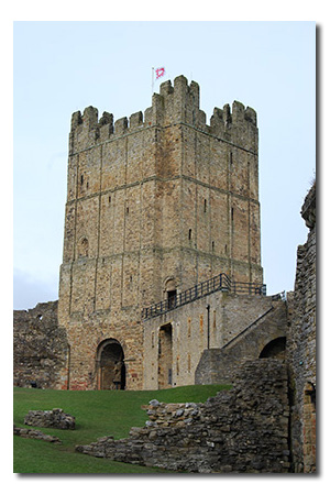 Richmond Castle, North Yorkshire England