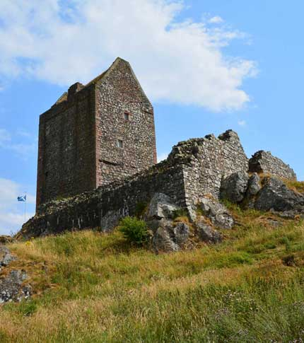 smailholm Tower, Scottish Borders Scotland