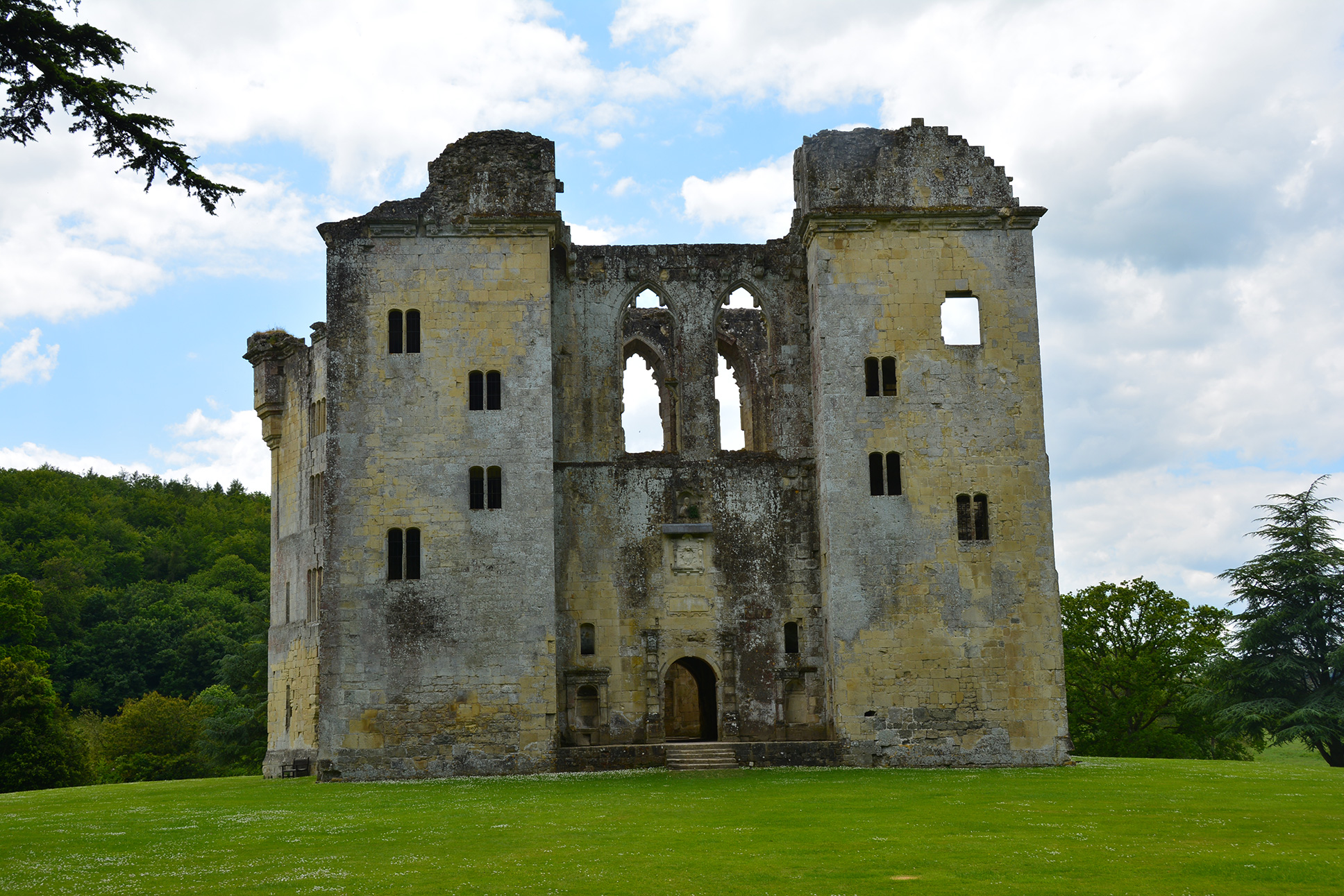Window With A View Great Castles Gallery Old Wardour Castle Wiltshire