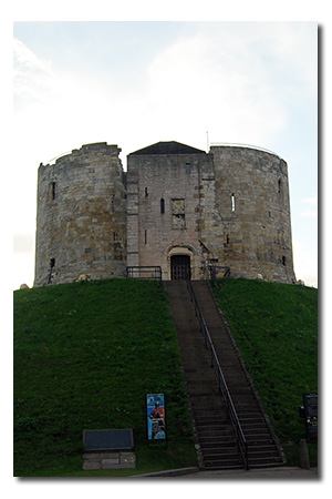 Clifford's Tower, North Yorkshire England