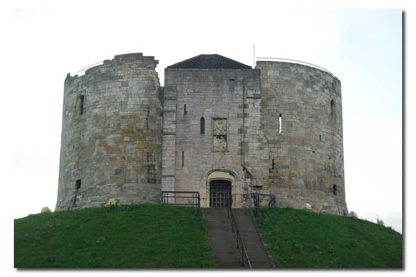 York Castle - Clifford's Tower, North Yorkshire England